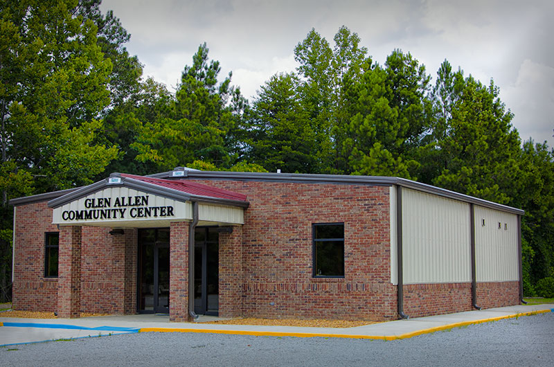 New Community Center Safety Shelter